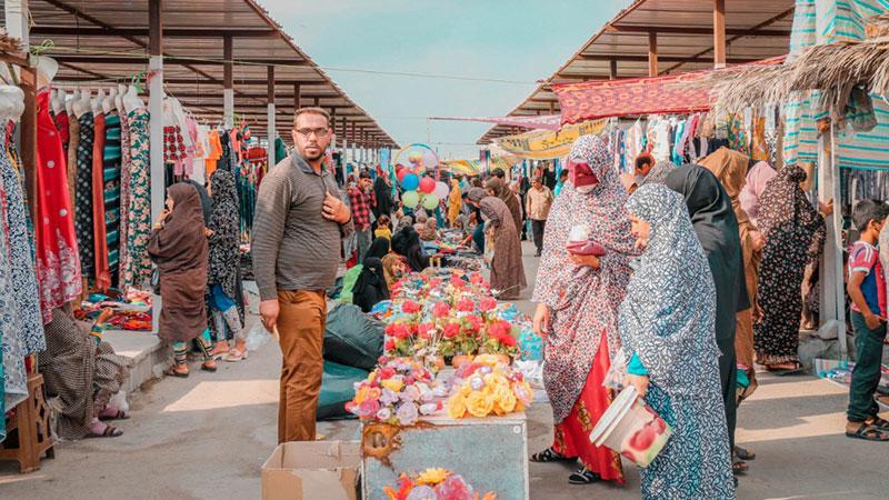 Minab Thursday Market, Iran