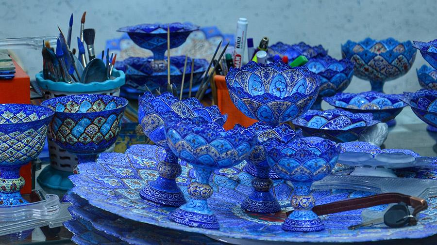Mina Kari handicrafts, Iran