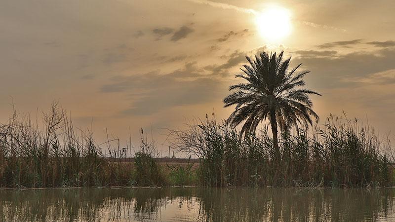 Minoo island in Khuzestan province