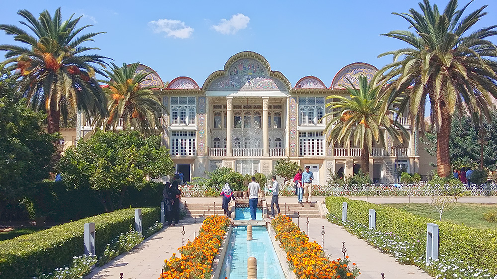 Eram Garden, a Persian garden in Shiraz