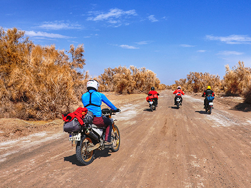 Adventure in Classic Route of Iran by 2 Wheels