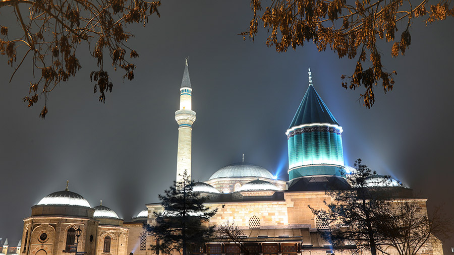 the mausoleum of Mowlana