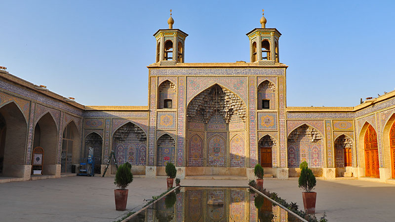 Nasir ol-molk Mosque Shiraz