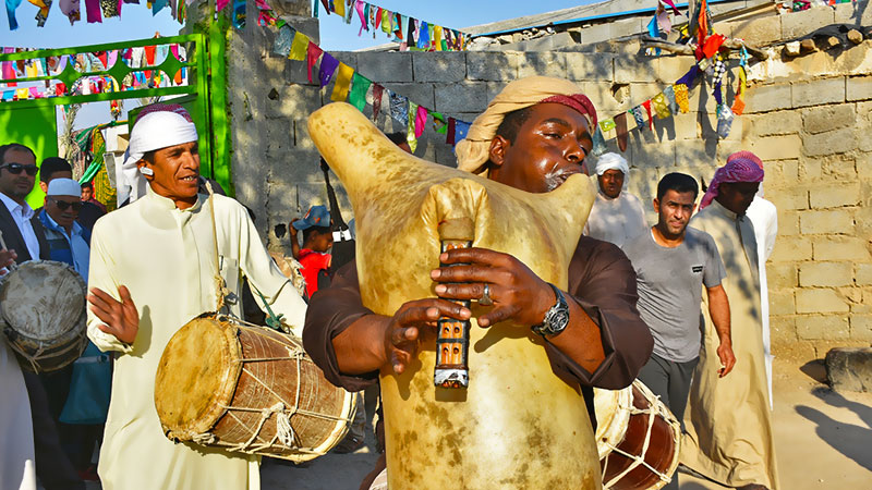 Ney anban instrument in Iran