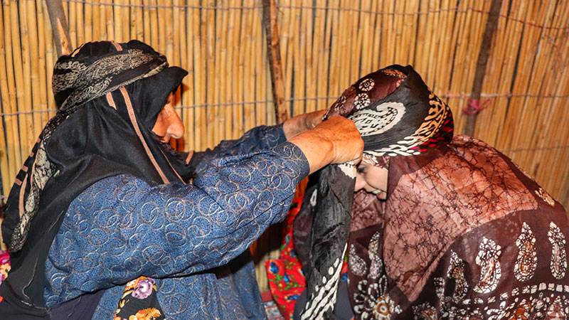 Shahsevan nomad women have special outfit