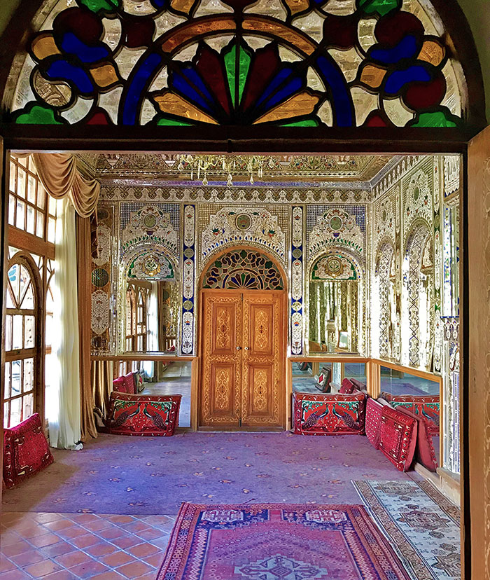 Qajar architecture in Shiraz old house