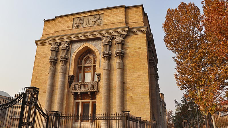 The old Tehran architecture