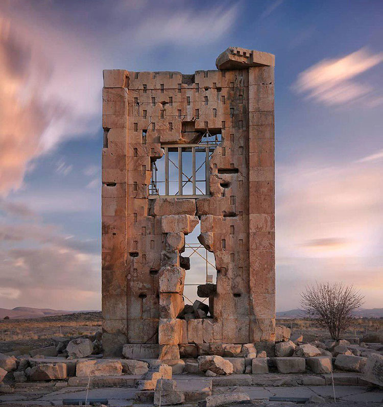 Prison of Solomon in Pasargadae