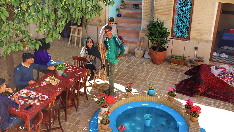 Pasin traditional hotel in Shiraz