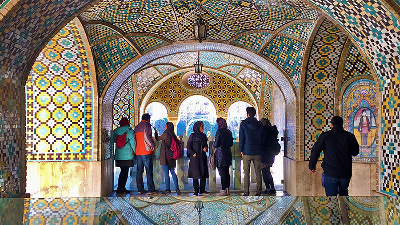 Golestan Palace, Persian architecture