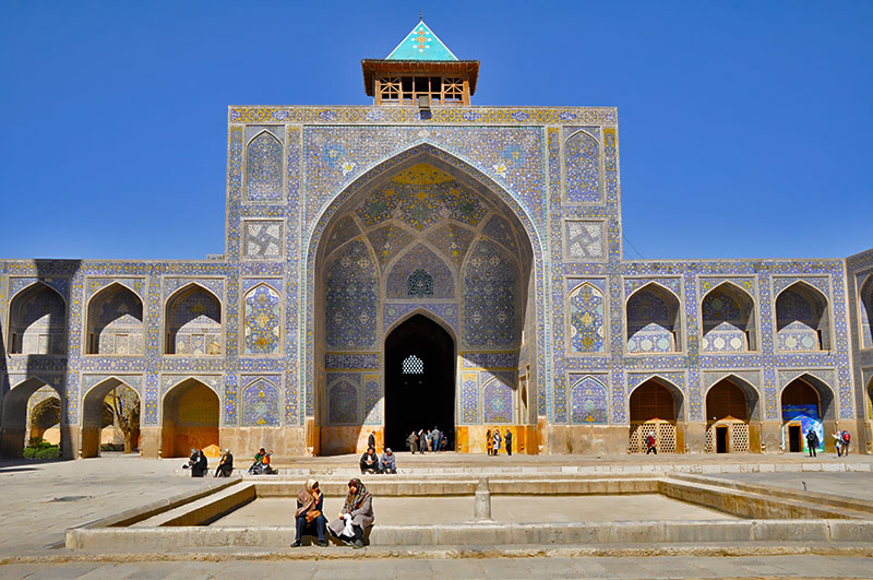 Iwan of Jame Mosque Isfahan