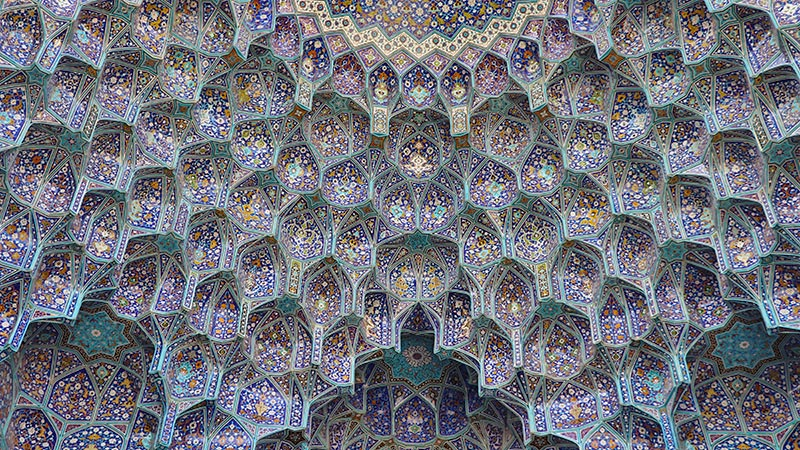 Iranian architecture, Muqarnas feature