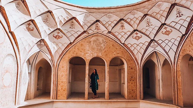 Persian architecture and symmetry element