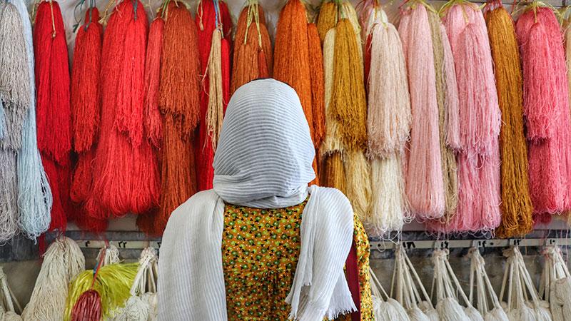 Iranian carpet is a national art