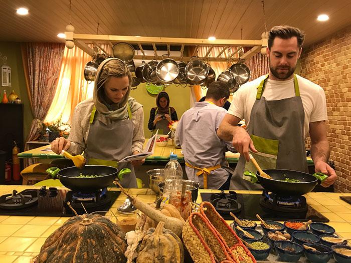Persian food course in Tehran
