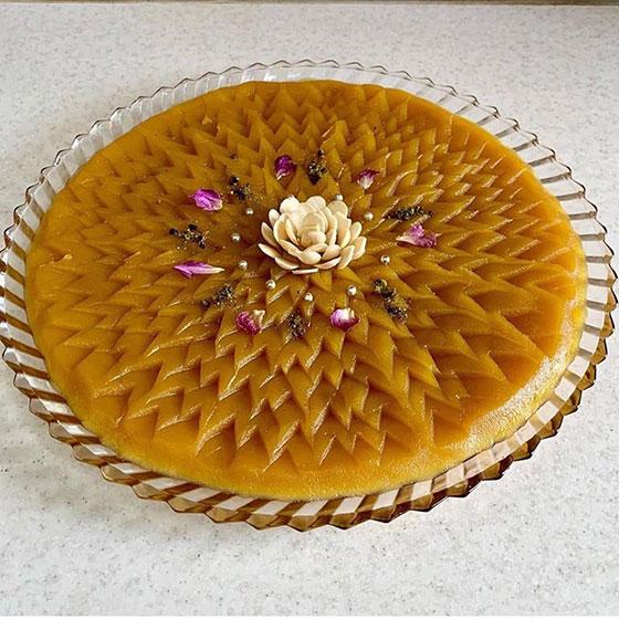 Iranian traditional sweet dish halva