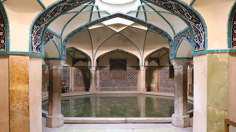 Persian bathhouse architecture