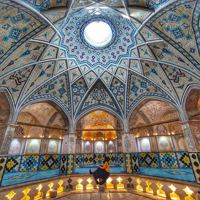 Sultan amir ahmad bathhouse in Kashan