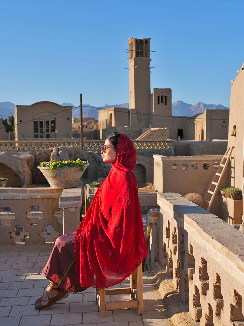 Yazd badgir, wind tower
