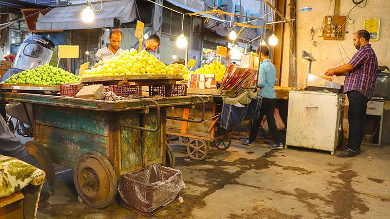 Qom old bazaar