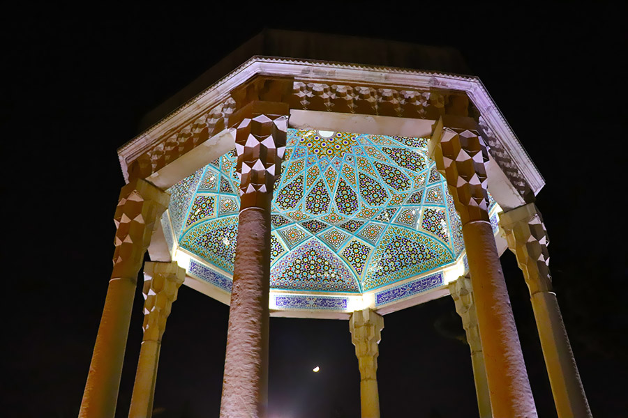 mausoleum of Hafez, the Persian poet in Shiraz