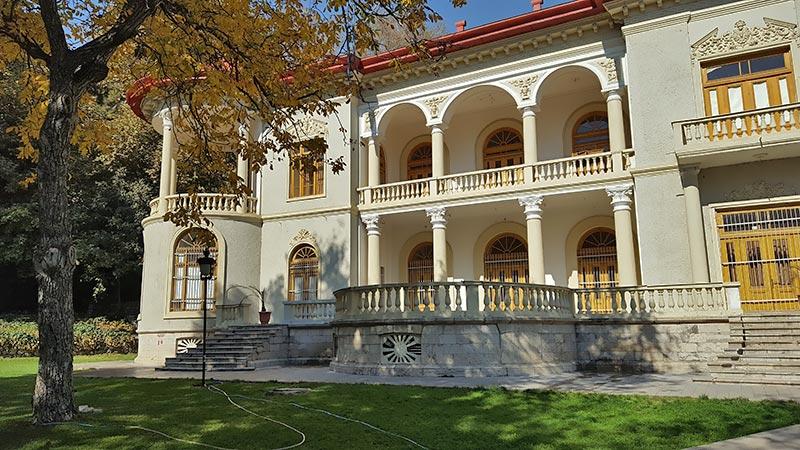 Sa'ad Abad palace in Tehran