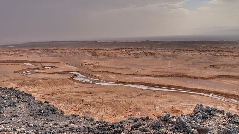 Gandom Beryan, Lut desert, Iran