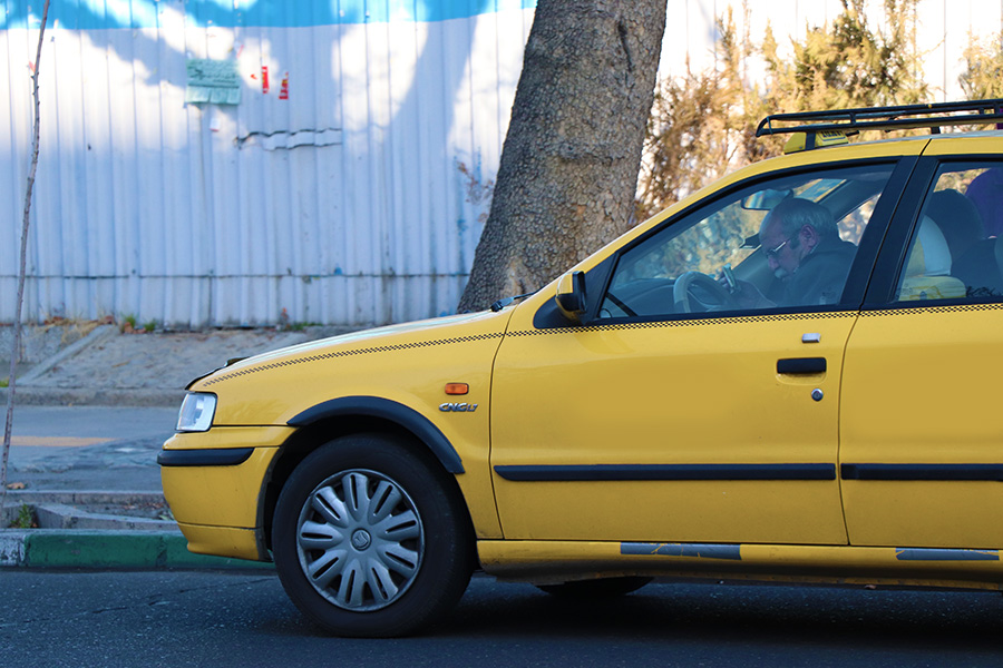 Savari (Taxi) for local transportation in Iran