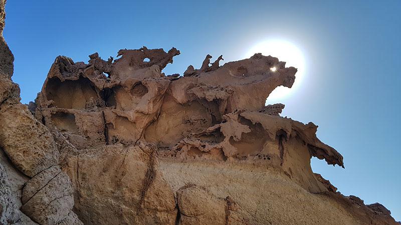 Status valley of Hormuz Island