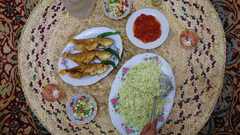 Seafood iran south and north of iran