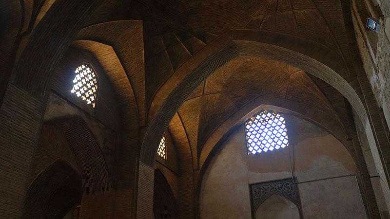 shobbat stone windows of Jame Mosque Isfahan