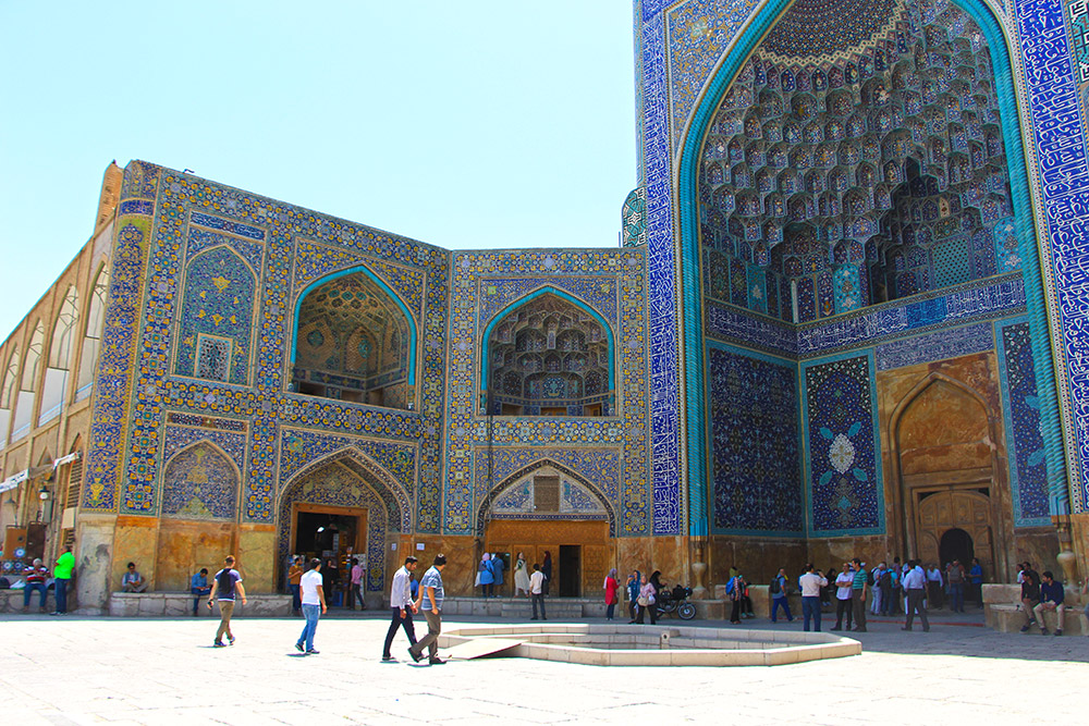 Shah Mosque of Naqsh-e Jahan, Isfahan, Iran