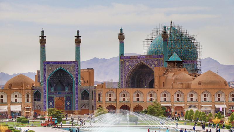 Naghshe Jahan Square view