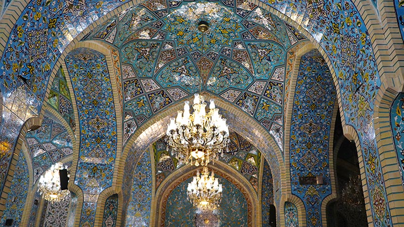 Shah Mosque in Tehran Grand Bazaar