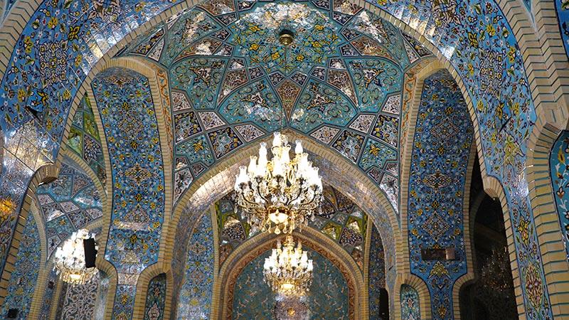 Shah Mosque in Tehran Grand Bazaar