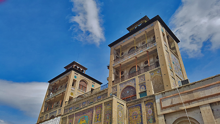 Shams- Ol Emareh, the highest building of Iran until 20th century