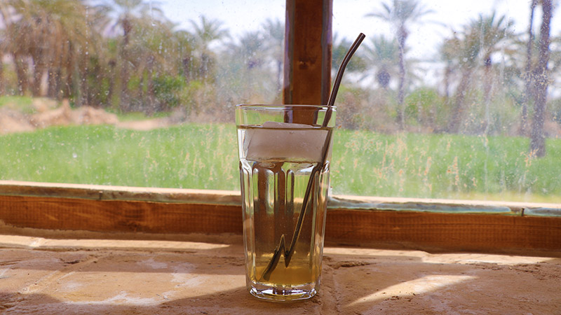 Iranian herbal cold beverage