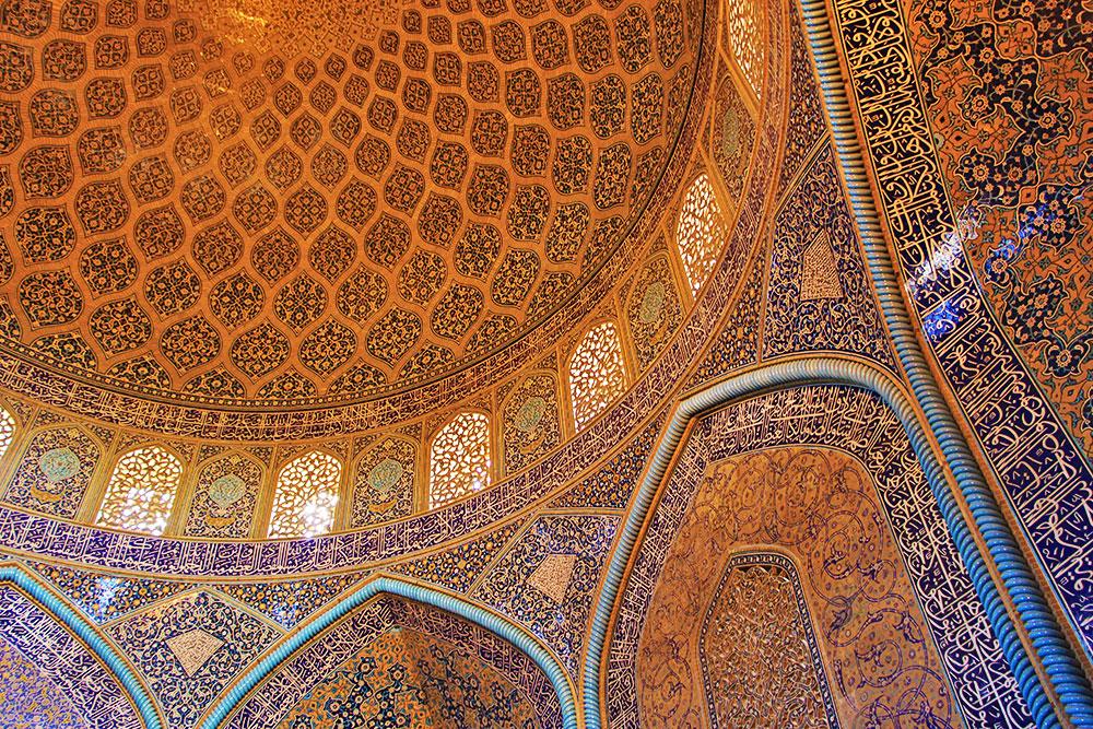 Sheikh Lotfollah Mosque of Naqsh-e Jahan Square, Isfahan, Iran