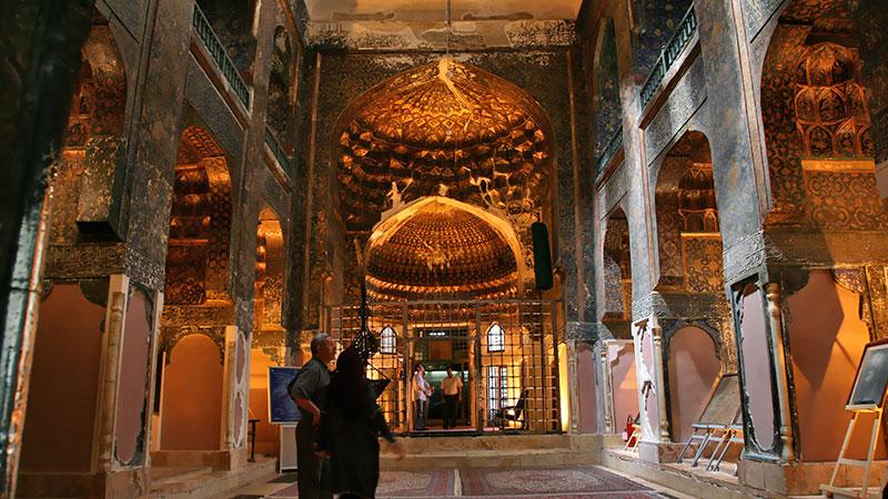 Sheikh Safi al-Din mausoleum in Ardabil