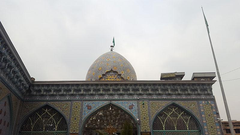 Emamzadeh Zeid in Tehran Grand Bazaar