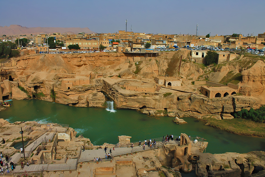 The Shushtar Historical Hydraulic System