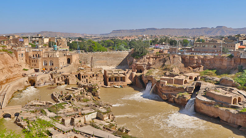 Shushtar hydraulic irrigation system, a world heritage