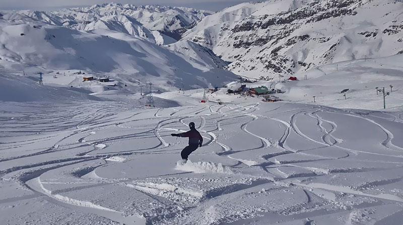 iran skiing experience near Tehran