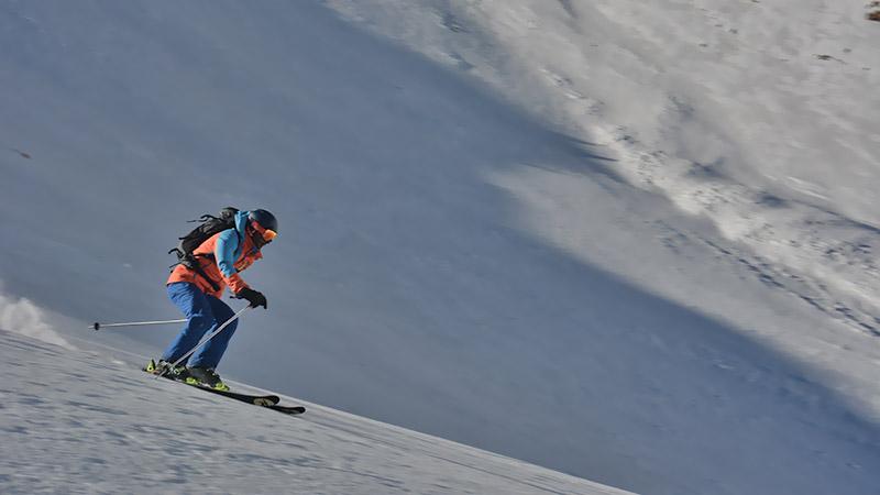 Ski in Winter, Iran
