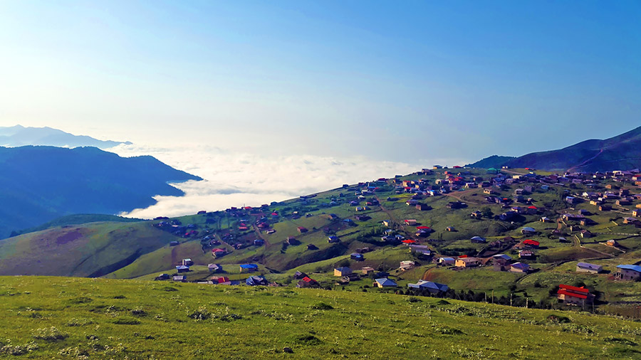 Trekking in Gilan, Ascending to the Most Green Peak of Iran