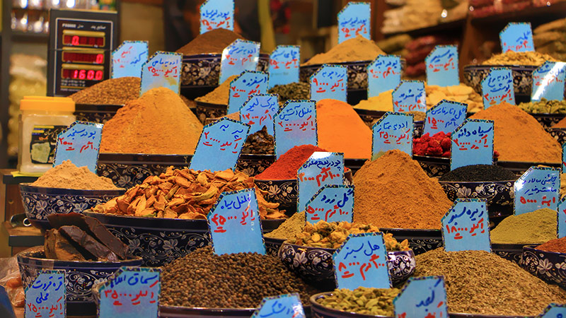 Spices and herbal souvenirs, Iran