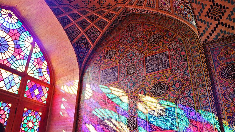 Islamic architecture of nasir ol-molk mosque