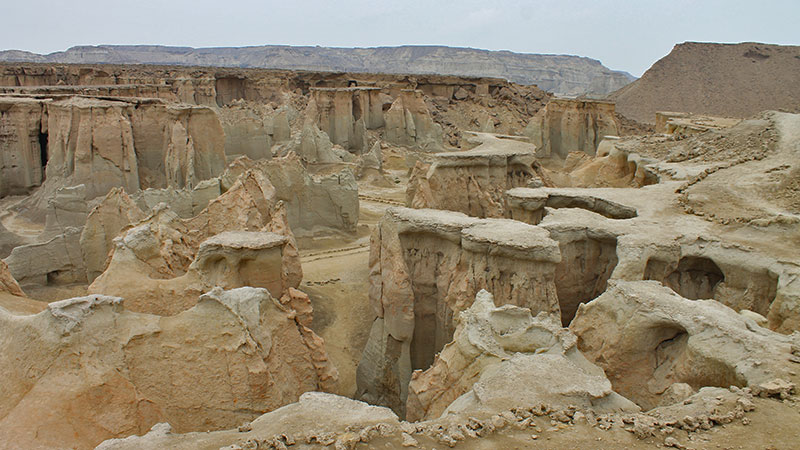 The valley of stars in Qeshm
