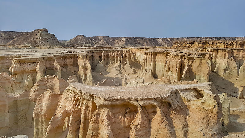 Star valley is a geosite in Qeshm Global Geopark