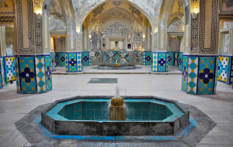Sultan Mir Ahmad bathhouse in Kashan